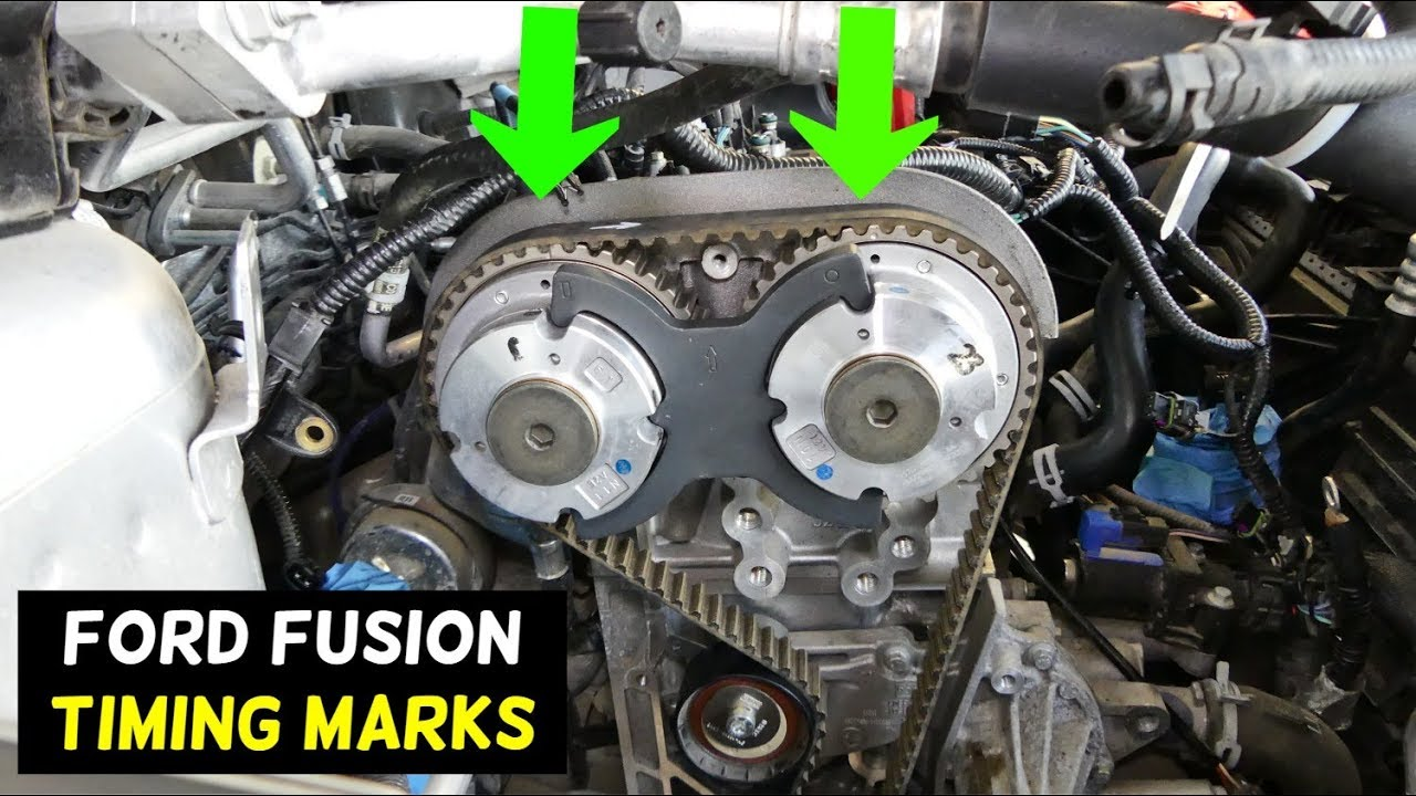 small resolution of ford fusion timing marks 2013 2014 2015 2016 2017 2018