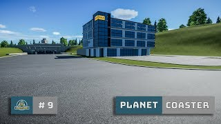 Planet Coaster: Ep. 9: Rebuild: Road Maintenance Depot - Office Building