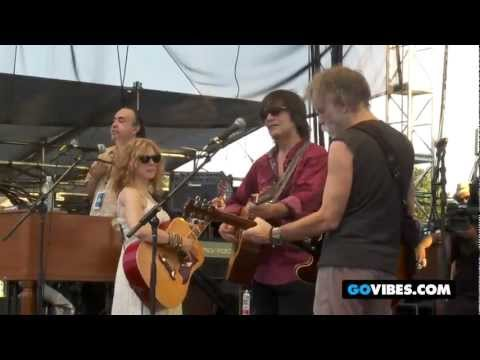 """Levon Helm Band Performs """"Deep Elem Blues"""" with Bob Weir at Gathering of the Vibes 2011"""