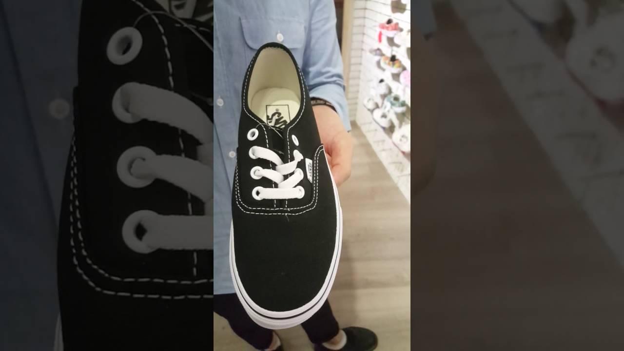 2386e9c34c REVIEW Vans Authentic Lo Pro Black Shoes from nTHEM - YouTube
