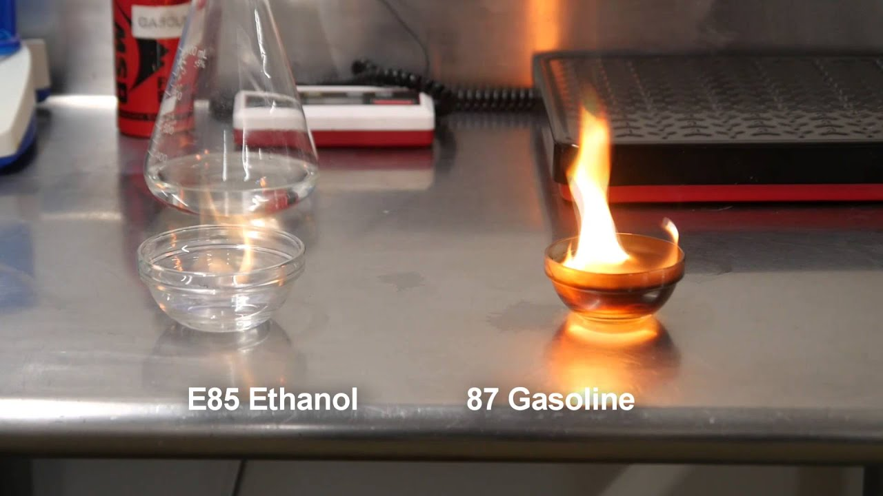 E85 vs Gas - YouTube