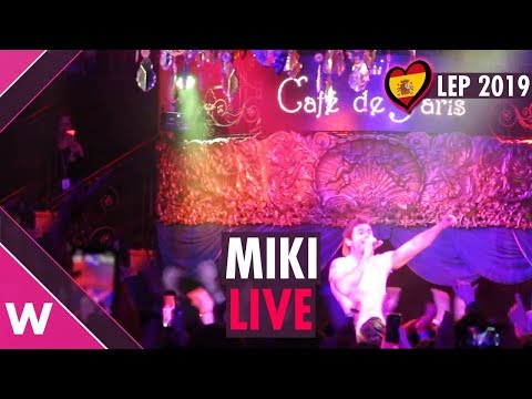 "Miki ""La venda"" (Spain 2019) LIVE at London Eurovision Party"