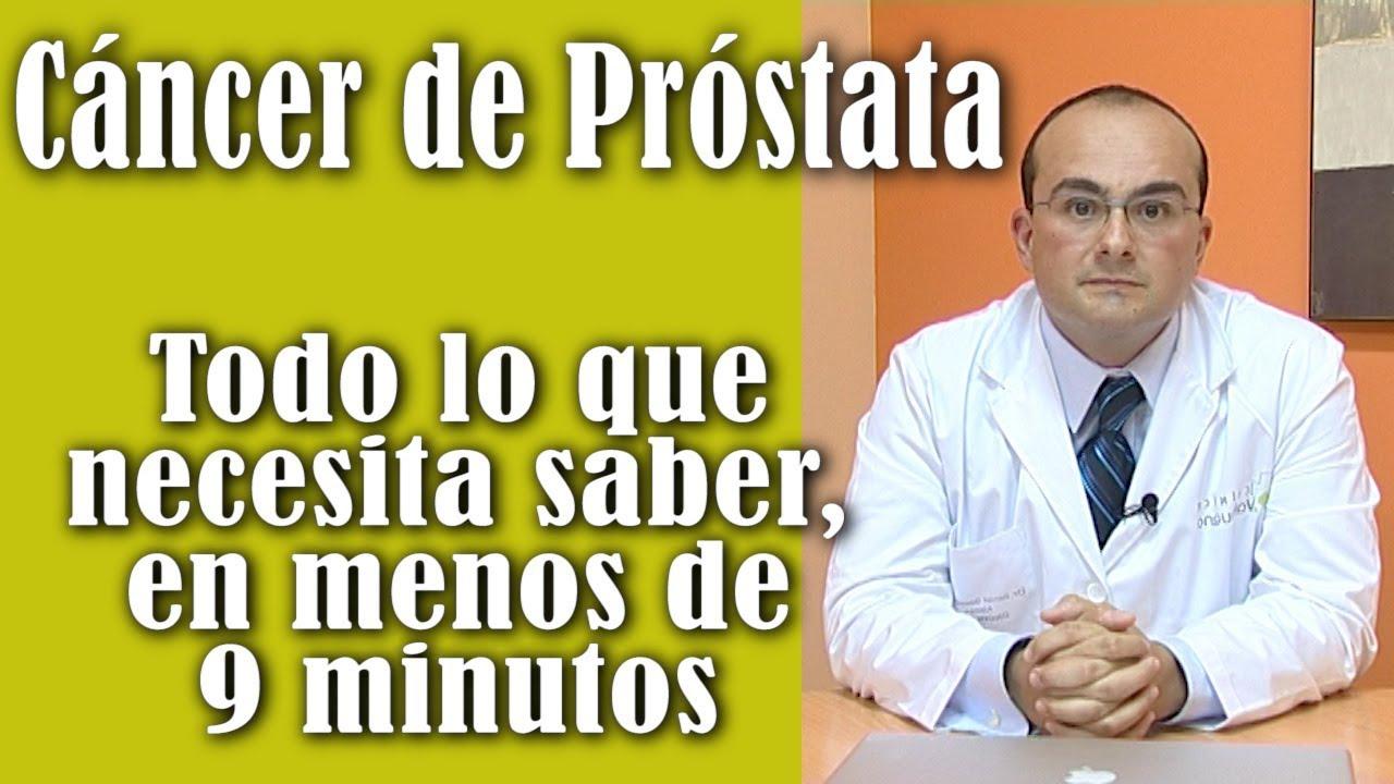 ¿Dónde está el video de YouTube de próstata?