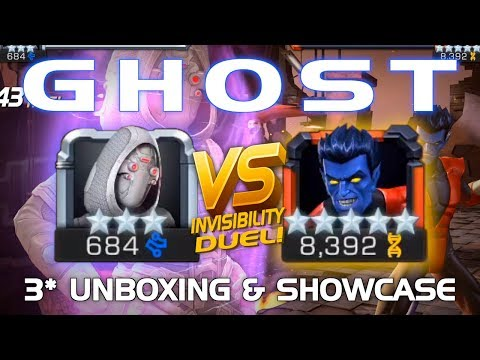 Ghost Unboxing & Duel vs. Nightcrawler w/ Tips   Marvel Contest of Champions