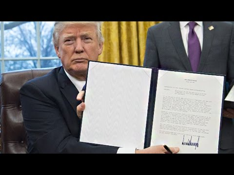 Trump's Tough Talk on Trade Deals is Absent from New Executive Orders