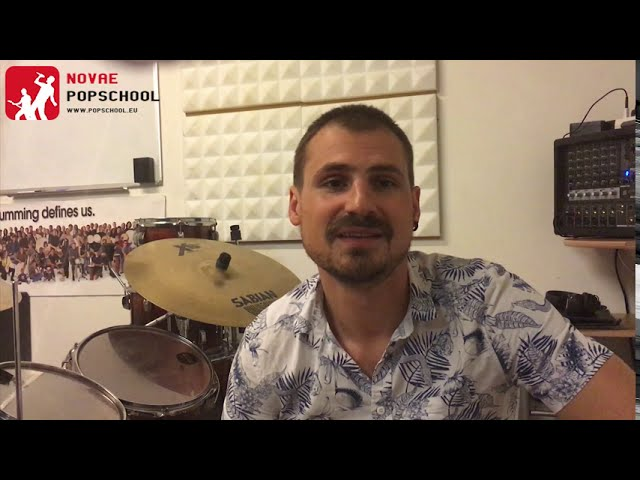 Novae Popschool Drumtips #1 | The Shape Of You drummen