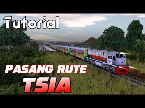 TUTORIAL : Cara Memasang Rute Trainz Simulator Indonesia Android