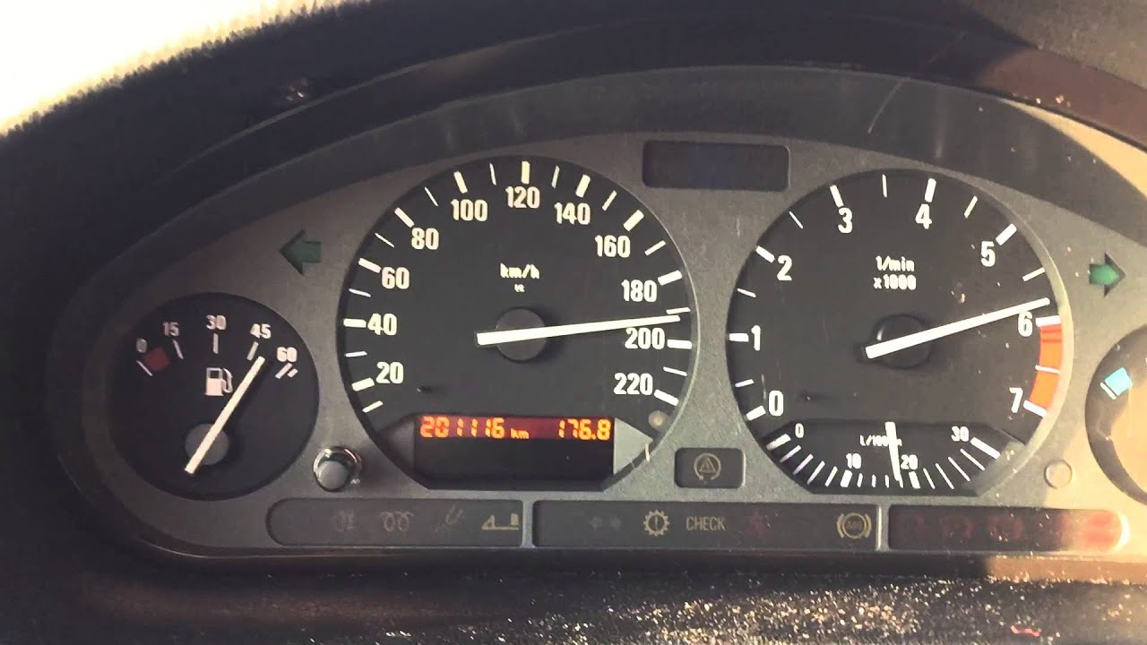 Bmw 316i E36 Top Speed 200kmh 120mph