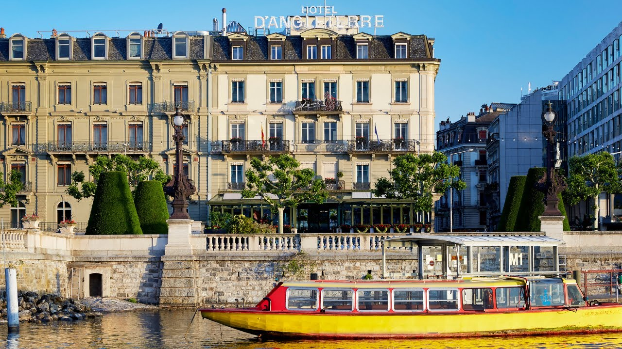 Hotel d 39 angleterre luxury boutique hotel in geneva youtube for Best boutique hotels geneva