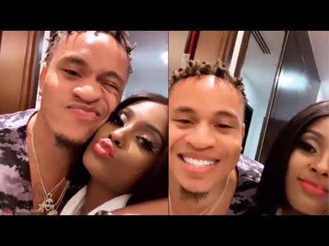 Full Instagram Live: Vanessa Mdee And Rotimi *Don't Watch This If You Are Single* 🥵