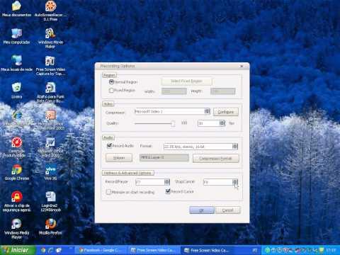 como usar o Free Screen Video Capture by Topviewsoft com audio