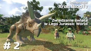 Zwiedzanie świata w Lego Jurassic World #2 Wybiegi Dinozaurów