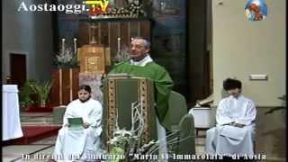 Repeat youtube video Parrocchia Santuario Maria Immacolata di Aosta Santa Messa in Diretta Video 15/02/2015