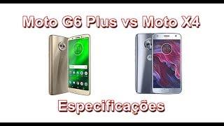Motorola Moto G6 Plus vs Motorola Moto X4 - Especificações