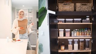 Organize With Me! Kitchen Organization Ideas