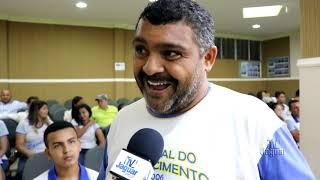 Professor Benedito leva alunos a sessão da câmara municipal em Morada Nova
