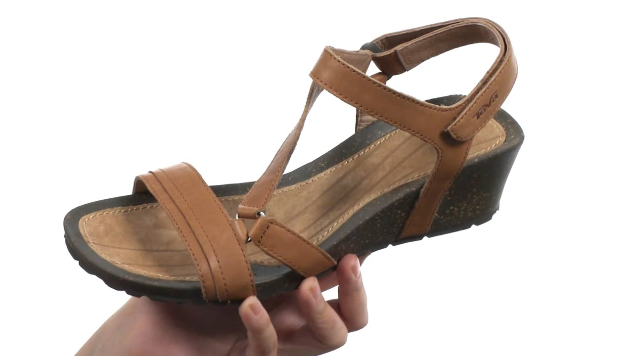 Teva Black Flatform Universal Sandals 73  liked on Polyvore featuring  shoes sandals