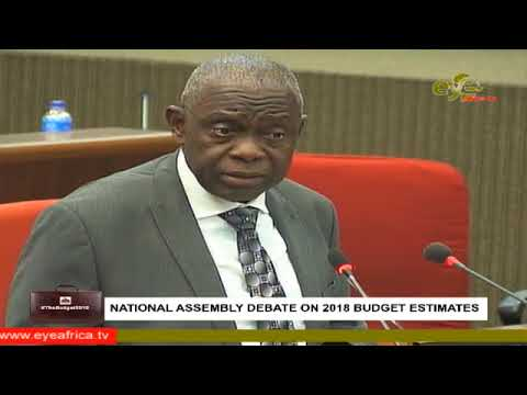 GAMBIA NATIONAL ASSEMBLY 1st day Debate on the 2018 Budget.