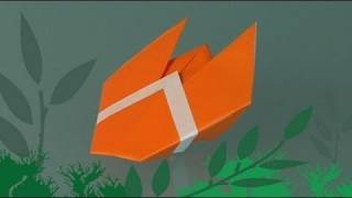 Learn Origami, How To Make A Paper Cicade