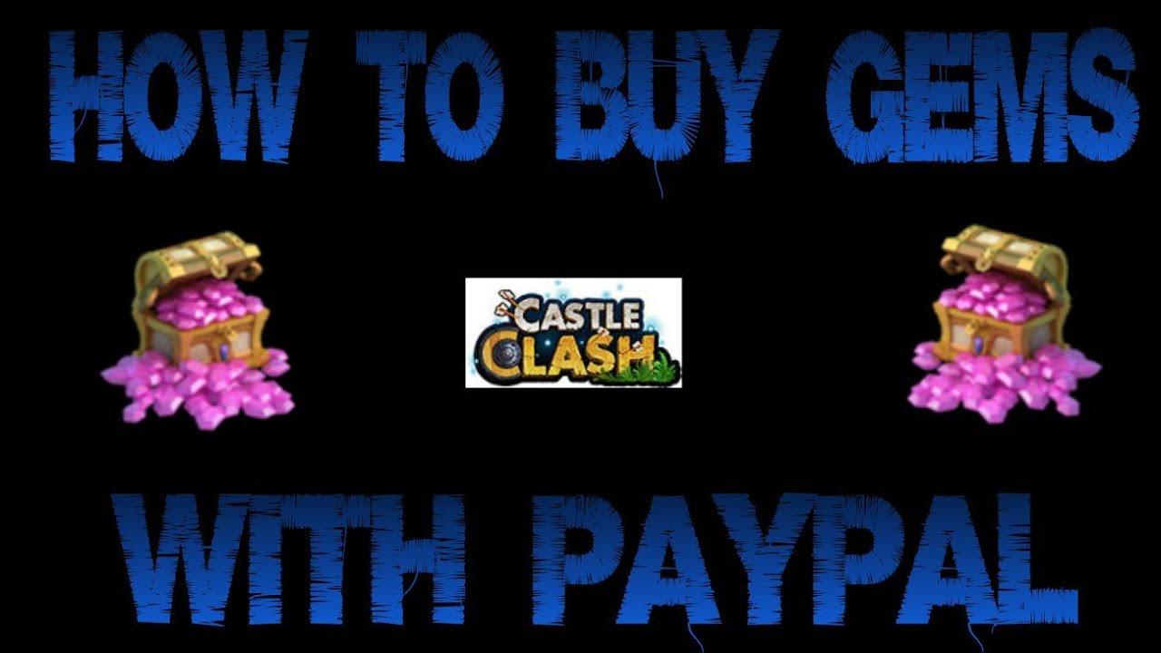 castle clash how to get gems