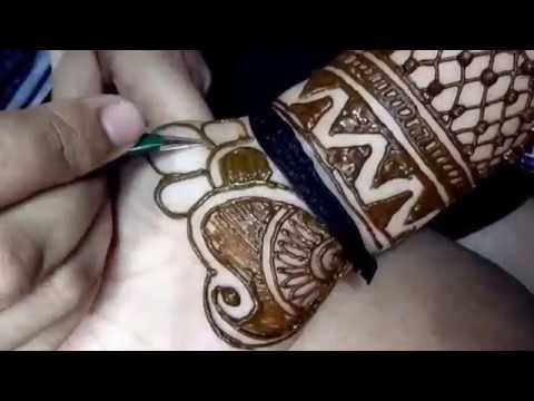 Easy And Simple Mehndi Design For Full Hands I Creative Diaries
