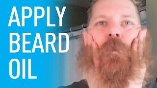 How To Use Beard Oil   Beardbrand