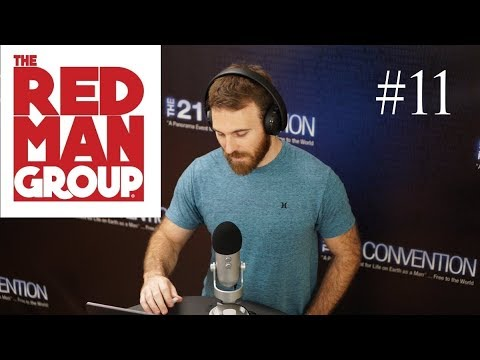 The Red Man Group on 21 Live Episode #11