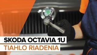 Montáž Čap riadenia vlastnými rukami - video příručka na SKODA OCTAVIA
