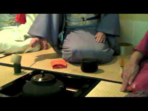 Japan Buddhist Temple Tea Ceremony