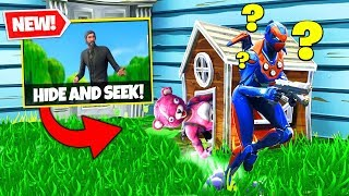 *NEW* Hide & Seek Custom Gamemode In Fortnite Battle Royale!
