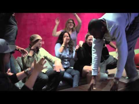 Universal Music Group (New York Office) goes Gangnam Style