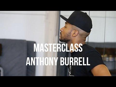 ANTHONY BURRELL • MASTERCLASS • Choreographer Beyonce