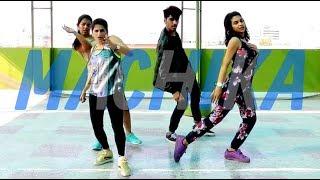 Dance Fitness Routine On Machika   Choreography By Vijaya Tupurani