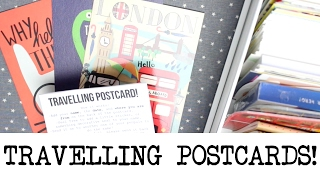 How To Send Travelling Postcards! | MyGreenCow