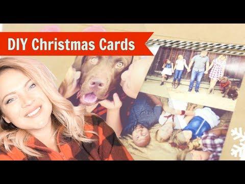EASY + CHEAP DIY handmade Christmas Cards