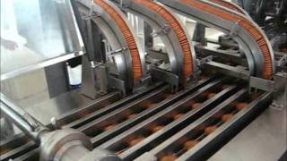 Linha de produção de biscoito
