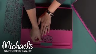 How To Craft Your Own Chalkboard Lap Desk | Michaels