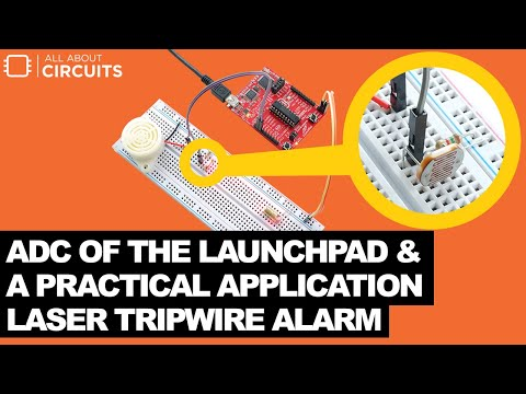 Use LaunchPad to Make a Laser Tripwire Alarm