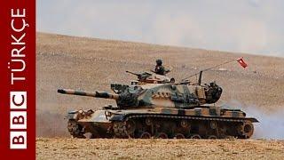 Sınırda güvenlik sıkılaştırıldı, tank namluları Suriye'ye döndü - BBC TÜRKÇE