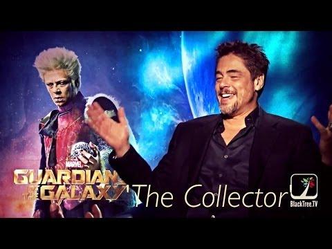 Benicio Del Toro interview for Guardians of the Galaxy