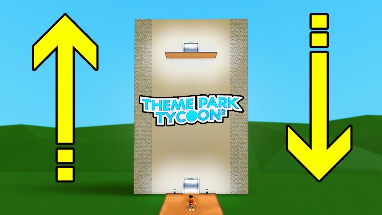 How To Build A Working Elevator In Theme Park Tycoon 2 Roblox