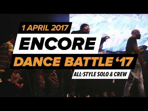 ENCORE DANCE BATTLE 2017: ON POINT VS THE SOULBROTHERS   HALF FINAL CREW