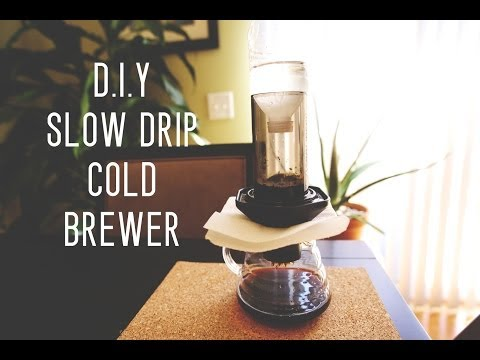 D.I.Y. Slow Drip Cold Brewer by Cafe Prima