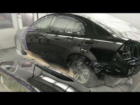 Spray Painting Black VE Commodore: Part 1
