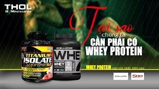 DN Vlog - Tại sao whey protein quan trọng cần thiết?