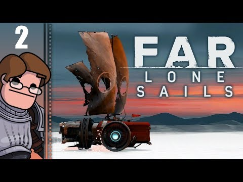 Let's Play Far: Lone Sails Part 2 - Radio Tower