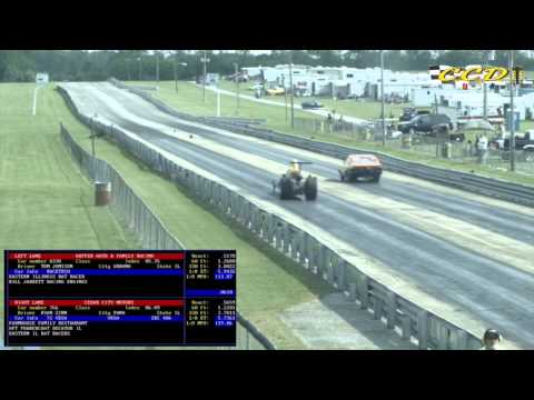 Coles County Dragway - May 24 2015 Early round action