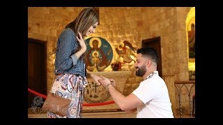 Best Proposal Story - Surprise Proposal Inside St. Veronica Church