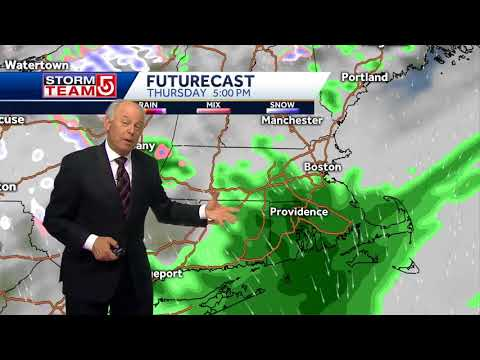 Video: After snow comes the sun and mild temps.