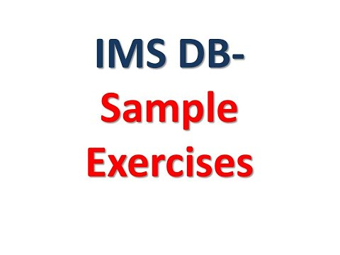IMS DB - Exercises On Various Calls
